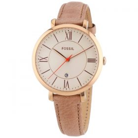 Fossil Jacqueline Three Hand Leather Watch ES3487 Price In Pakistan