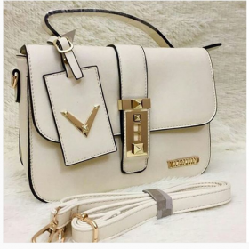 Pearl White VALENTINO High Quality Women Hand Bag Price in Pakistan