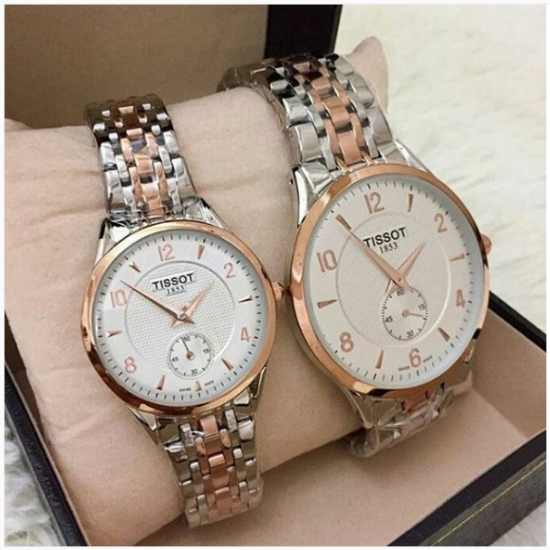 TissoT Pair of watches 1134 Price In Pakistan