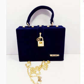 Navy blue Valentino High Quality Bag For Women Price in Pakistan