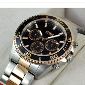 Guess Two Tone Black Men Watch Price In Pakistan
