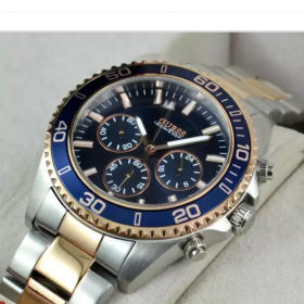 Guess Two Tone Blue Men Watch Price In Pakistan
