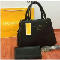 Black MICHAEL KORS High Quality 2 IN 1 Women Bag Set Price in Pakistan