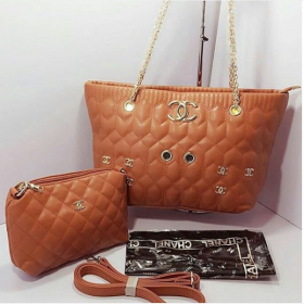 Mustard CHANEL High Quality 2 in 1 Bags For Women