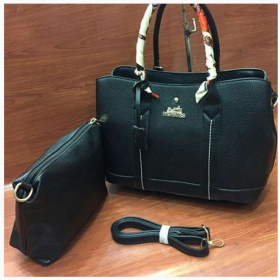 Black HERMES 2 in 1 Highest Quality Bag Set Price in Pakistan