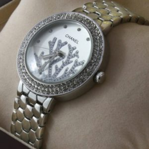Chanel Diamond Silver Ladies Watch Price In Pakistan