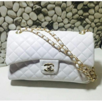 White CHANEL Highest Quality Women Bag Set Price in Pakistan,