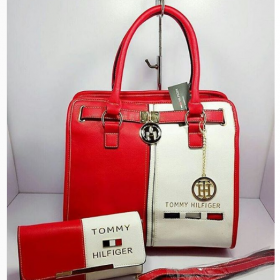 Red & White Tommy Hilfiger Highest Quality Women Bag Price in Pakistan,