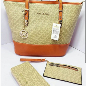 MK 3IN 1 High Quality Bag Set For Women Price in Pakistan