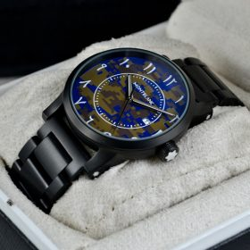 MONTBLANC (ARABIC 12) COMMANDO BLUE DIAL price in pakistan