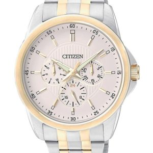Citizen AG8344-57A - Silver & Golden Stainless Steel Analog Watch for Men Price In Pakistan