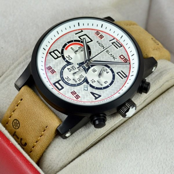 Montblanc Suede Red Ferrari Chronograph Price In Pakistan