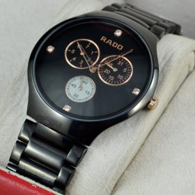 Rado Thinline Cosmograph Black Watch For Men Price In Pakistan