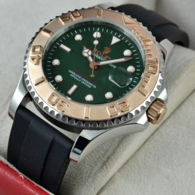 Rolex Yacht Master Rubber Green Dail Strap price in pakistan