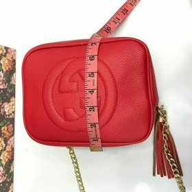 Gucci Red Cross Body Bag with long chain Price In Pakistan