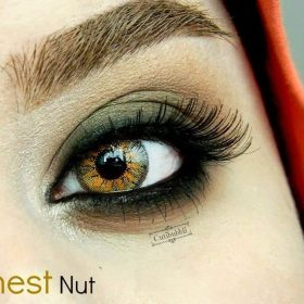 EyeDia Color Contact Lenses Chestnut Brown