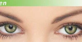 Dazzler Eye's Party Wear Contact Lenses Green