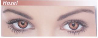 Dazzler Eye's Party Wear Contact Lenses Hazel