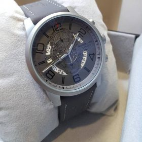Mont Blanc Chronograph Day Date Grey Dial And Belt Price in Pakistan