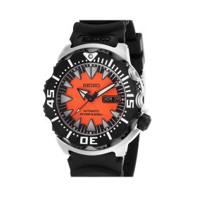 Seiko Orange Rubber Watch For Men -SRP315K1 Price In Pakistan