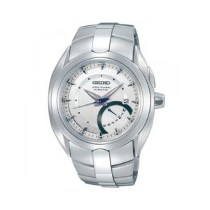 Seiko Men's Silver Stainless Steel Watch Model No. SRN007P1