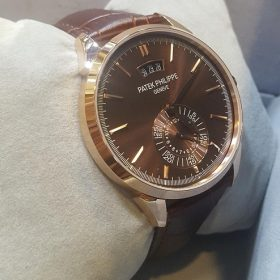 Patek Philippe Dual Dial Chronograph Brown Watch