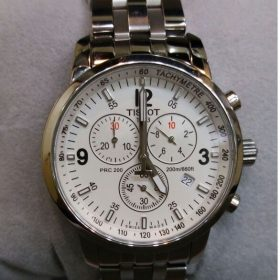 Tissot Chronograph 200M Water Resistant Men's Watch