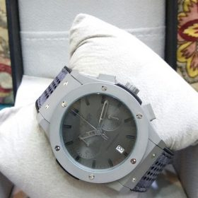Hublot Chronograph Date Display Grey Body & Dial Price In Pakistan