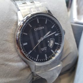 Citizen Black Dial Silver Body Date Display Men's Watch