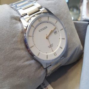 Citizen White Dial Date Display Men's Watch