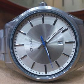 Citizen Stiletto Silver Date Display Men's Watch