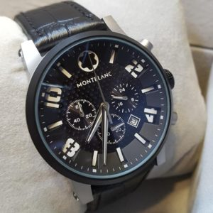 Mont Blanc Chronograph Midnight Black Men's Watch