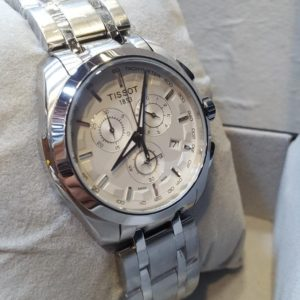 Tissot Chronograph Chrome Strap Men's Watch