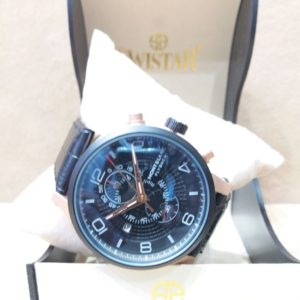 Mont Blanc Hemisphere Chronograph Black Men's Watch