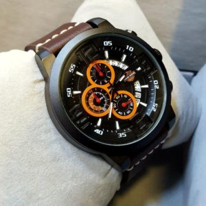 Hang Sheng Chronograph Date Display Men's Watch