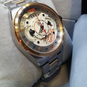 Tag Heuer Chronograph Date Display Silver Gold Men's Watch