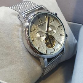 Patek Philippe Chronograph Silver Men's Watch