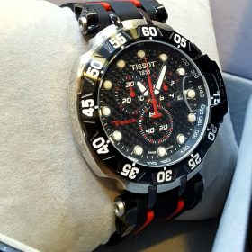 Tissot T-Aace Chronograph Rubber Metalic Strip Men's Watch