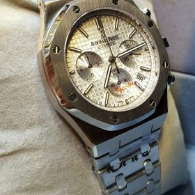 Audemars Piguet Chronograph Silver Men's Watch