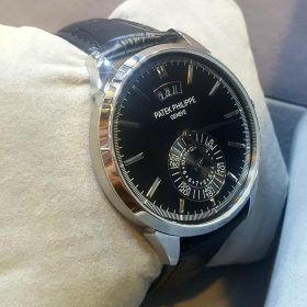 Patek Philippe Black Day Date Display Watch
