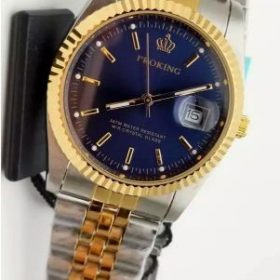 ProKing Blue Dial Two Tone Date Display Price In Pakistan