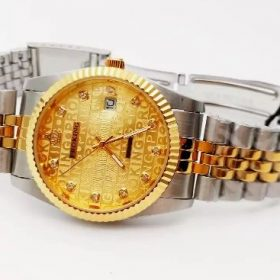 ProKing Date Just Two Tone Golden Dial Price In Pakistan
