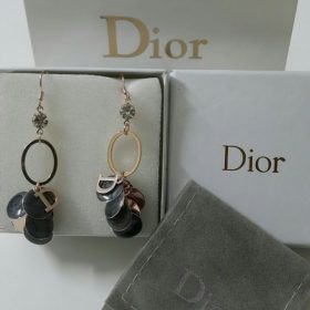 Dior Tribal Black And Golden Tone Earrings Set Price In Pakistan