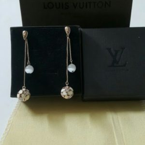 Louis Vuitton Pearl By The Chain Yard Earrings Set Price In Pakistan
