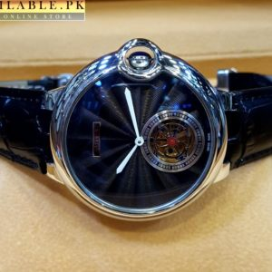 Cartier Ballon Bleu De Cartier White Hands Black Dial Watch Price In Pakistan