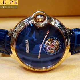 Cartier Ballon Bleu De Cartier Blue Belt and Dial Watch Price In Pakistan