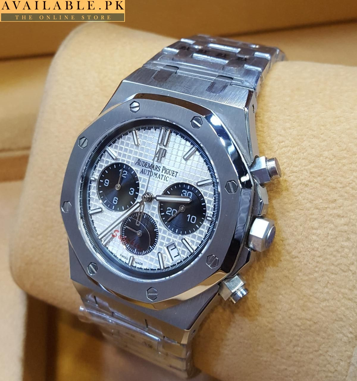 02868e9463df Audemars Piguet Royal Oak Black Dial Automatic Men s Chronograph Watch Price  In Pakistan