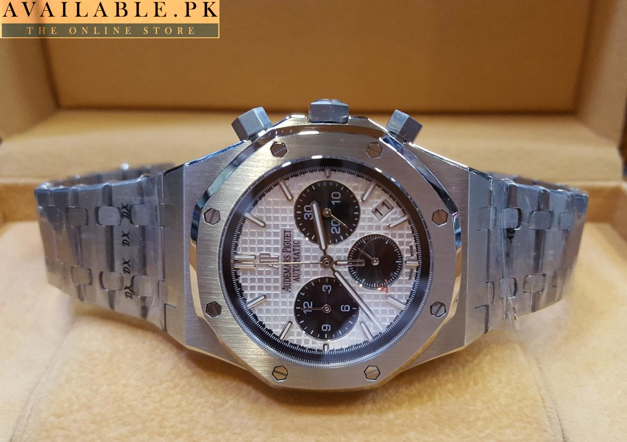 4b62167a4d51 Audemars Piguet Royal Oak Black Dial Automatic Men s Chronograph Watch Price  In Pakistan 4