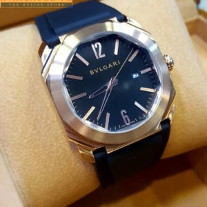 Bulgari Octo Automatic Black Dial BGO41BSLD Watch Price In Pakistan