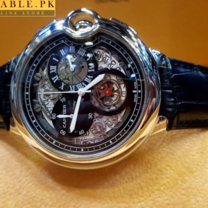 Cartier Tourbillon Bleu Chronograph Flying Black Watch Price In Pakistan